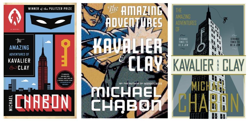 Tha Amazing Adventures of Kavalier and Clay – obálky kníh v anglickom originály