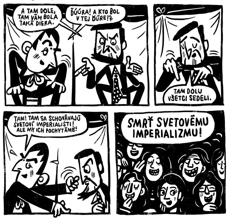 Radostná správa – ukážka z pripravovaného komiksu