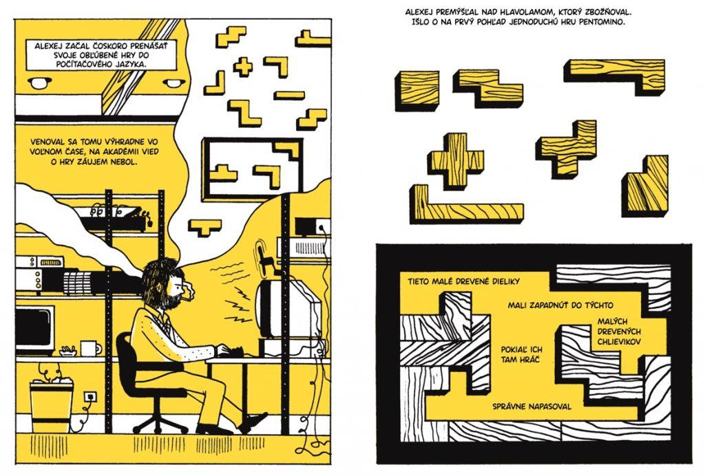 Tetris (Box Brown) – ukážka z pripravovaného komiksu